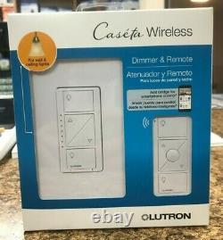 Lutron Caseta Wireless Smart Wall Light Dimmer Switch + Distant (lot Of 3)
