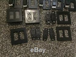 Lutron Diva Dv-600p-bl Unipolaire À Incandescence / Dimmer 600w Interrupteur Black