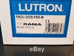 Lutron Éclairage À Domicile Rania Rnsu-452b-fbb-m Gradateur 1g Interrupteur Laiton Brillant