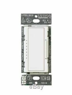 Lutron Maestro 150 Watts Blanc Intérieur Dimmer Macl-153m-wh Électrique Léger