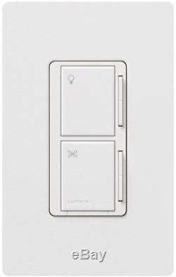 Lutron Maestro Ventilateur Commutateur De Commande De Lumière Companion Wired Variable Speed white Nouveau