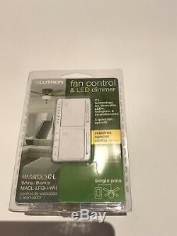 Lutron P-pkg1w-wh-r 120v Intelligent Lumineux Commutateur Et À Distance Kit