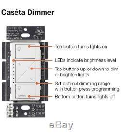 Lutron Pbdgpkg2wa Caseta Kit De Commande D'éclairage 2 Kit De Commutation