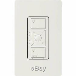 Lutron Pd-5ne-wh Caseta Smart Wireless Lumineux White Switch