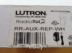 Lutron Radio Ra2 Rr-aux-rep-wh, Répétiteur Auxiliaire, Variateurs D'éclairage