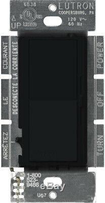 Lutron Variateur De Commutateur 8,3 Amp 1000 Watts 1 Pôle Rocker Control Doux Locator Light