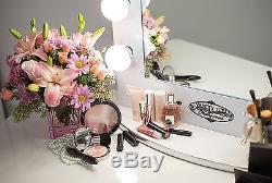 Maquillage Vanity Girl Hollywood Lighted Miroir De Table Ou Mural Gradateur