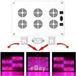 Morsen 2400w Led Élève Le Gradateur De Lumière Sur L'interrupteur À Plein Spectre Pour Hydroponique /