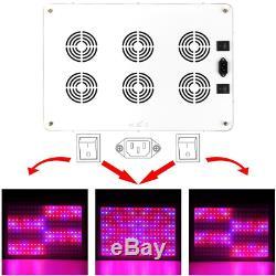 Morsen 2400w Led Élèvent La Lumière 2 Dimmer Sur Le Commutateur Plein Spectre Pour Hydroponique