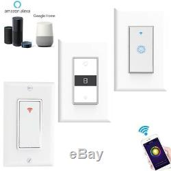 Nexete Smart Wall Light Switch Wifi Fonctionne Avec Amazon Alexa Google Accueil Ifttt