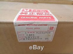 Nos 1981 1982 Chevy Luv Clignotants Interrupteur / Ws Lave / Isuzu Gm D'origine Danger