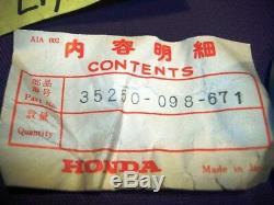 Nos Oem Honda Ct70 Ct70k Variateur De Lumière 35250-098-671