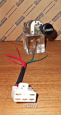 Nos Oem Toyota Landcruiser Phare Lampe Interrupteur Dimmer Bouton Kit Fj40 Bj42 Hj47