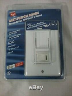 Nouveau Commercial Électrique Multi-usage Gradateur Blanc Night Light 731-638