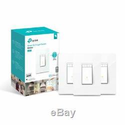 Pack De 3 Variateurs De Lumière Kasa Smart Wifi Tp-link Alexa Google Home Hs220p3
