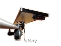 Pdr Light 3 Lignes. Boîte De Commutateur De Gradateur En Aluminium, Boule Pour Le Support Ultra-léger