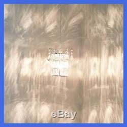 Pendentif En Cristal Clair Plug In Mini Chandeliers On / Off Gradateur Effacer 16,4
