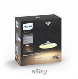 Philips 4076130p7 Hue Led Suspension Avec Interrupteur Variateur, Toutes Les Nuances Blanches, 39