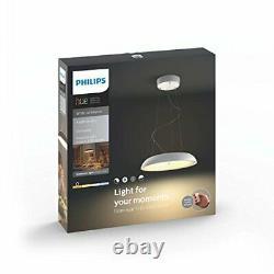 Philips Amaze 4023330p7 Hue Led Pendentif Light Avec Dimmer Switch All White