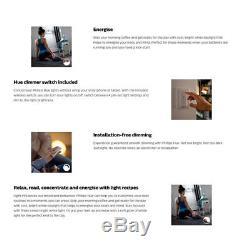 Philips Hue Wi-fi Starter Kit / 2.0 Pont / Gradateur / Blanc E27 Ampoule Led
