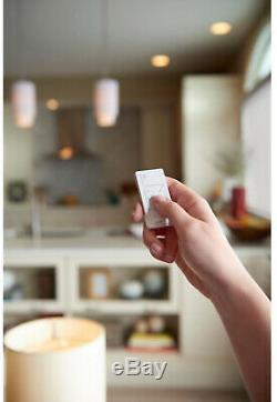 Plaque Murale Pour Télécommande Sans Fil Smart Lighting Avec Variateur Inclus, 2 Unités