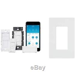 Plaques Murales Kit De Commutateur Variateur De Lumière Unipolaire / 3 Voies Smart Lighting Smart Lighting