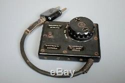 Rare Vintage Seconde Guerre Mondiale Allemande Em36 Mg34 Mg42 Mgz Optique Binocular Lumière Gradateur