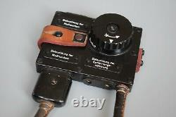 Rare Vintage Wwii Allemand Em36 Mg34 Mg42 Mgz Optic Binocular Light Dimmer Switch