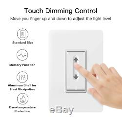Smart Dimmer Switch, Treatlife Wifi Light Switch Pour Dimmable Ampoules, Compatible