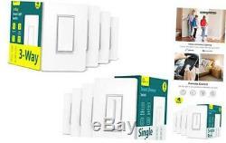 Smart Lumière Gradateur 4pack + 3 Interrupteur 4pack Bundles
