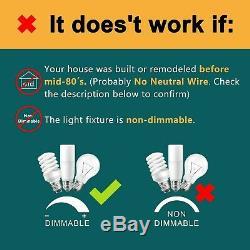 Smart Switch Dimmer, Neutre Fil:, Treatlife Wifi Light Switch Pour. Nouveau