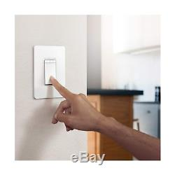 Tp-link Hs220p3 Interrupteur Lumineux Kasa Smart Wifi, Gradateur (paquet De 3), Blanc, Paquet De 3