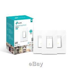Tp-link Hs220p3 Interrupteur Lumineux Kasa Smart Wifi (paquet De 3), Variateur De Lumière Par Tp-link DI
