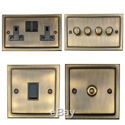 Trimline Bronze Antique Tabb, Interrupteurs De Lumière, Prises De Courant, Gradateurs, Cuisinière, Téléviseur