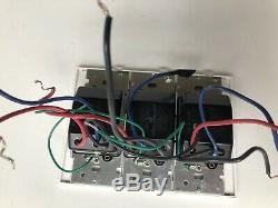 Triple Commutateur Vareo Lutron V 600 Gradateur Préréglé 120 V 600 Watt Interrupteur