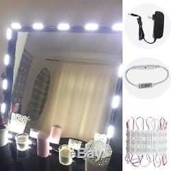 Vanity 60 Led Miroir Lumière Kit Maquillage Hollywood Miroir Touch Gradateur 9.8ft