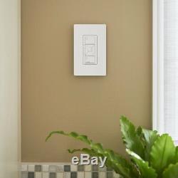 Variateur D'éclairage Intelligent Caseta Wireless Pour Elv + Ampoules, Pd-5ne-wh, Blanc