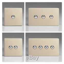 Varilight Interrupteurs Variateur De Lumière À Del Tactile Ir Sans Chrome Et Chrome Satiné