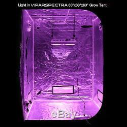 Viparspectra Par1200 1200w Led Élèvent La Lumière 12 Bande Peut Être Obscurci 2 Gradateurs