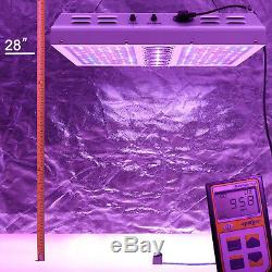 Viparspectra Par1200 1200w Led Élèvent La Lumière 12 Gradateurs Dimmable De 2 Bandes