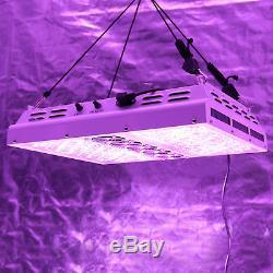 Viparspectra Par1200 2pcs1200w 12 Bandes Dimmable Led Élèvent La Lumière 2 Variateurs De Lumière