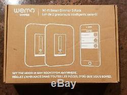 Wemo 400 Watts Cfl / Led / Incandescence Variateur De Lumière Commutateurs (2-pack) F7c059-bdl