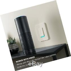 Wemo Dimmer Commutateur D'éclairage Wi-fi, Fonctionne Avec Amazon Alexa, Google Assistant Et Nest