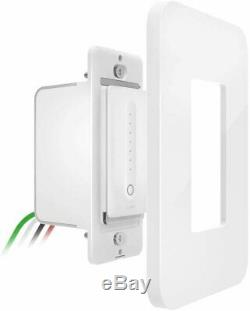 Wemo Dimmer Wi-fi Light Switch, Compatible Avec Alexa Et Google Assistant