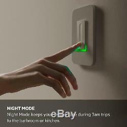 Wemo Dimmer Wifi Light Switch (f7c059) Pack De 3, Fonctionne Avec Alexa Et Google Assistant