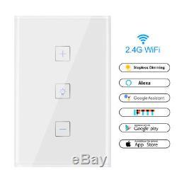 Wifi Smart Home Automation Contrôle Tactile Mur Interrupteur Lumière Tactile Dimmer